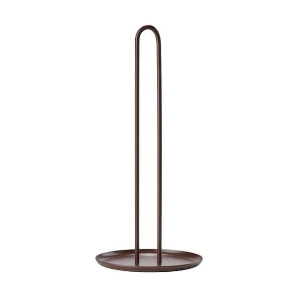 Singles barna fém papírtörlő tartó, magasság 32 cm - Zone