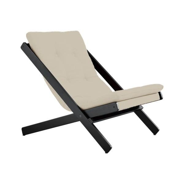Fotel składany Karup Design Boogie Black/Vision