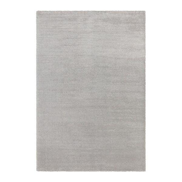 Světle šedý koberec Elle Decor Glow Loos, 80 x 150 cm
