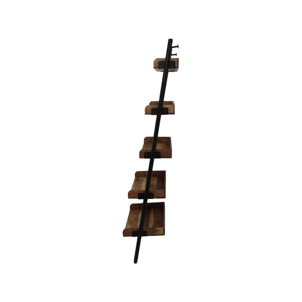 Dekorativní žebřík z akáciového dřeva HSMcollection Trayo