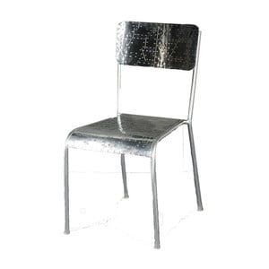 Židle Antique, stříbrná