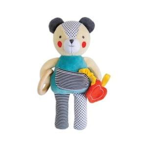 Hračka podporující rozvoj poznávacích vlastností Petit collage Bear