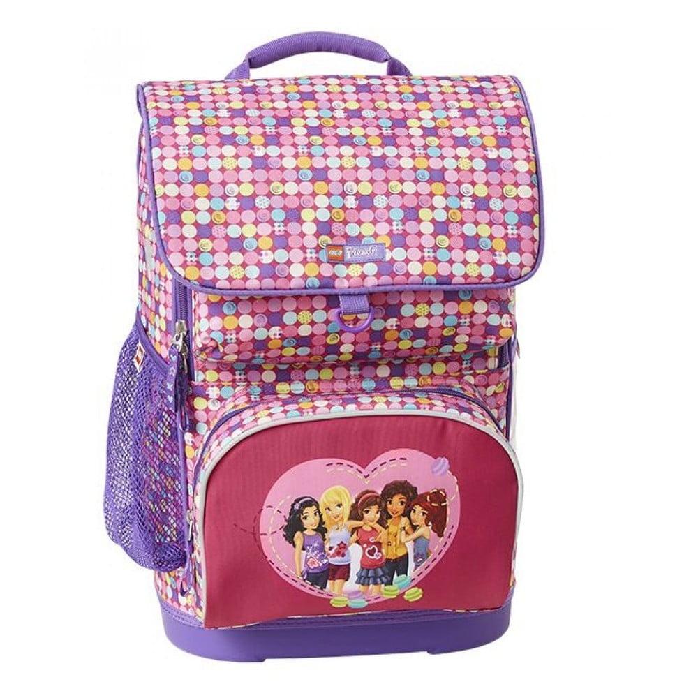 23b99e4198f Školní batoh s taštičkou LEGO® Friends Confetti Optimo