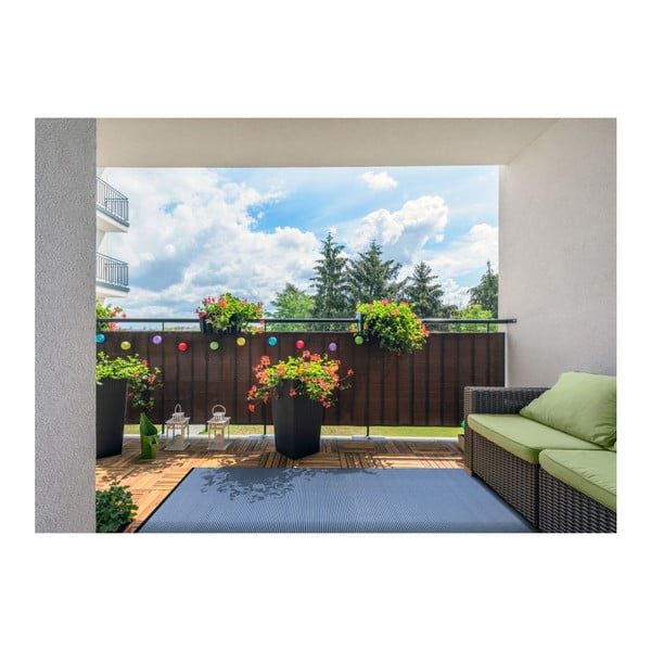 Modrý oboustranný koberec vhodný i do exteriéru Green Decore Whisper, 150 x 240 cm