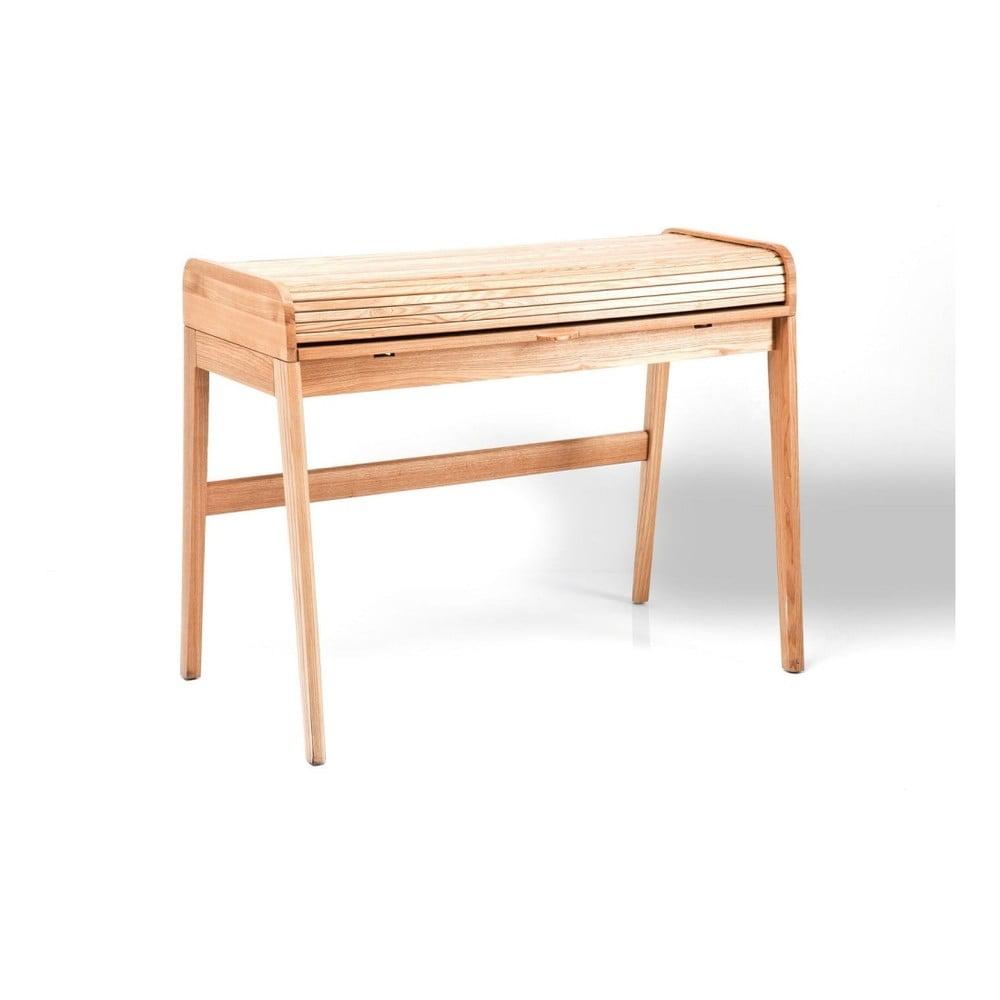Sekretář z jasanového dřeva Kare Design Lady