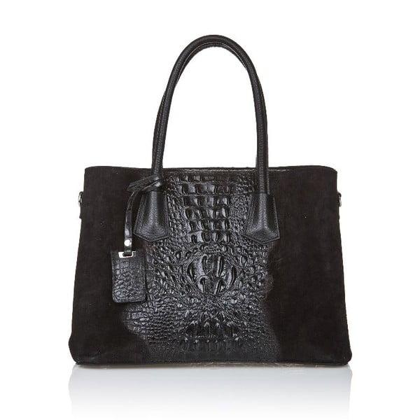 Kožená kabelka Markese 1160 Black