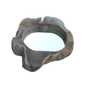Zrcadlo z teakového dřeva HSM Collection Rorri