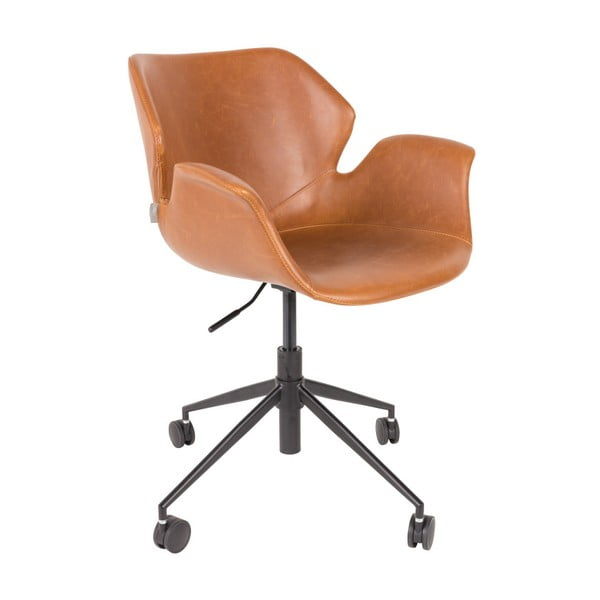 Scaun birou Zuiver Office Chair Nikki, maro