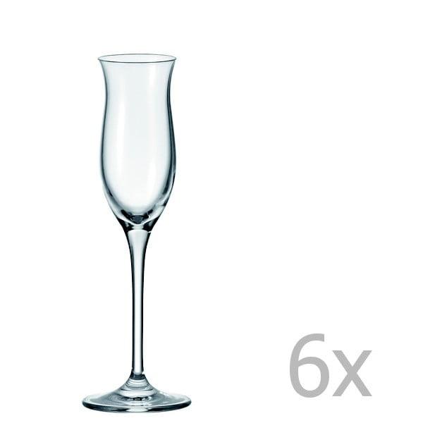 Sada 6 sklenic na pálenku LEONARDO Cheers Bar, 90 ml