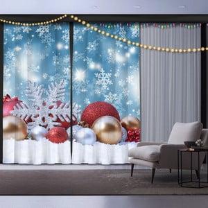 Sada 2 vánočních závěsů Christmas Sparkle