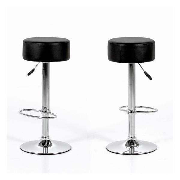 Barová židle Dumpling, černá