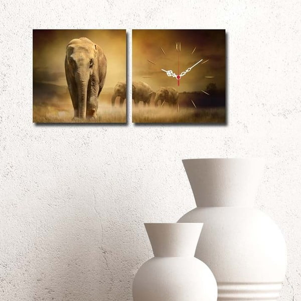 Obrazové hodiny Safari