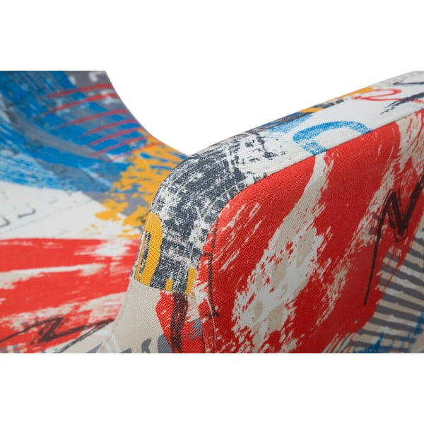 Lavice s podnožím z borovicového Mauro Ferretti Times Square
