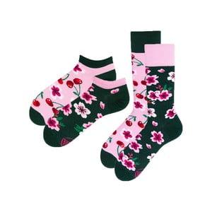 Sada 2 párů klasických a kotníkových ponožek Many Mornings Blossom, vel. 35-38