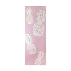 Růžová podložka na jógu Le Studio Pineapple Yoga Mat