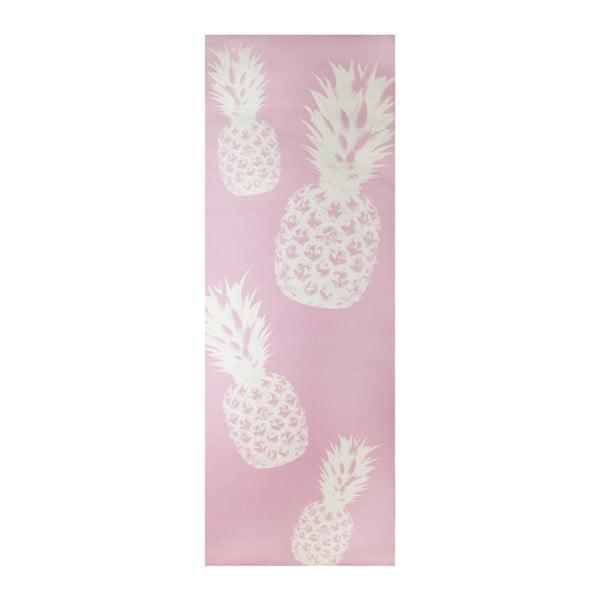 Saltea pentru yoga Le Studio Pineapple Yoga Mat, roz
