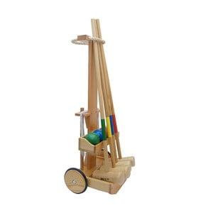 Sada na kroket Crocquet Original s vozíčkem