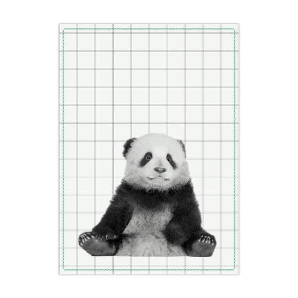 Ścierka kuchenna PT LIVING Panda, 50x70cm