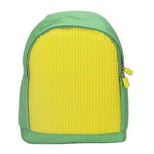 Dětský batoh Pixelbag green/yellow