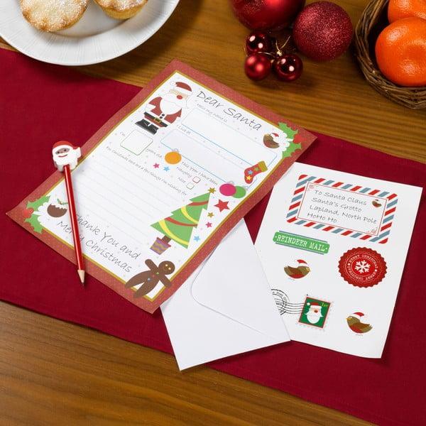 Dopisní set pro Santu Neviti Christmas Craft