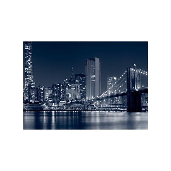 Obraz Noční velkoměsto, 100x70 cm