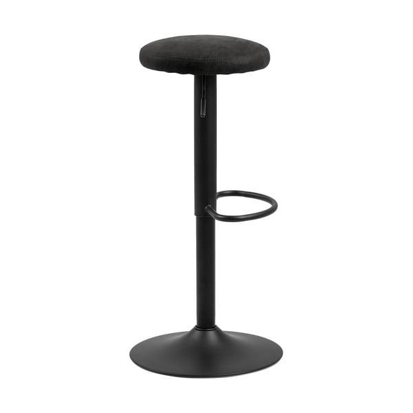 Barová židle s černým polstrováním Actona Finch