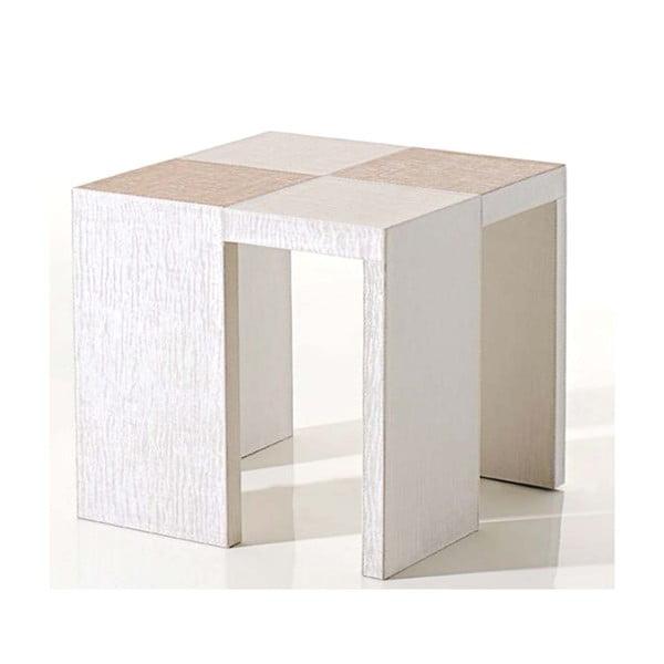 Odkládací stolek Table Side White
