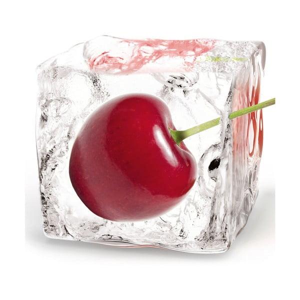 Skleněný obraz Cherry Cube, 20x20 cm