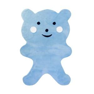 Dětský koberec Mavis Teddy Bear Blue, 100x150 cm