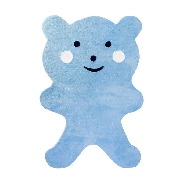 Dětský koberec Mavis Teddy Bear Blue, 120x180 cm