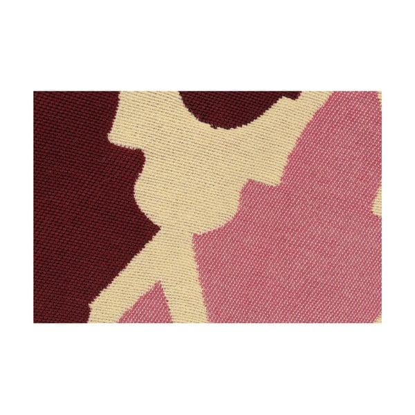 Červený koberec Floorist Baklava Claret Red, 120x180cm