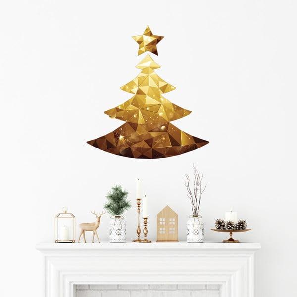 Autocolant Crăciun Ambiance Christmas Tree Origami