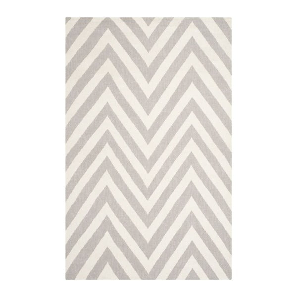 Vlněný koberec Safavieh Serena, 121x182 cm, béžový