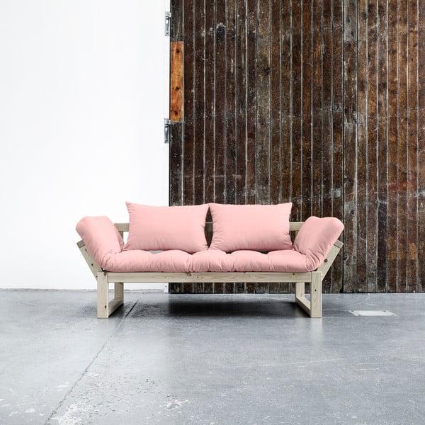 Variabilní pohovka Karup Edge Natural/Pink Peonie