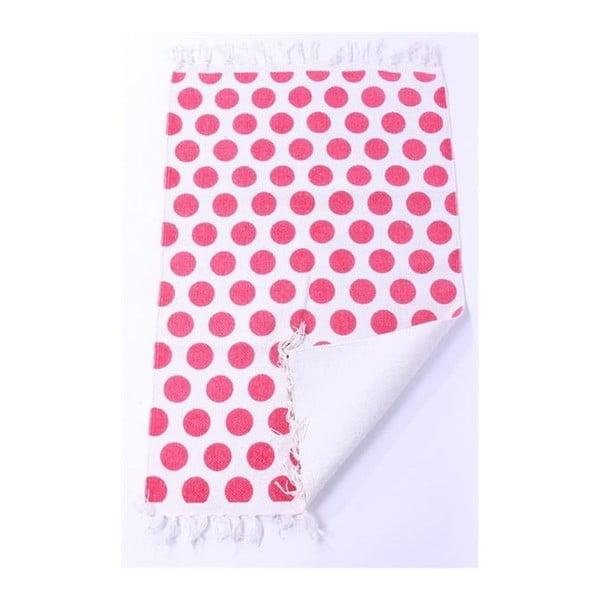 Koberec La Finesse Dots Pink, 60x90 cm