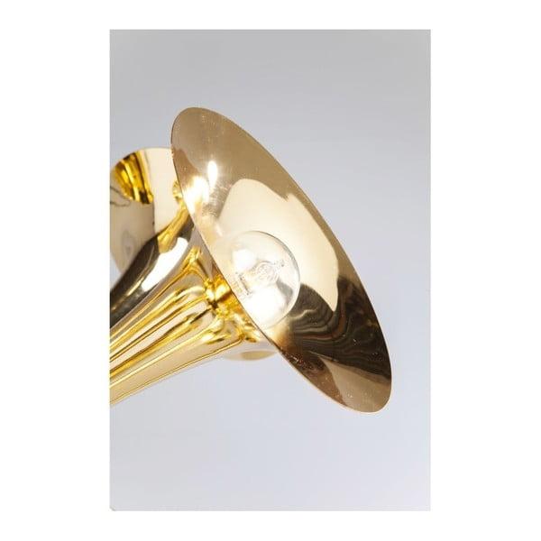 Závěsné svítidlo ve zlaté barvě Kare Design Trumpets