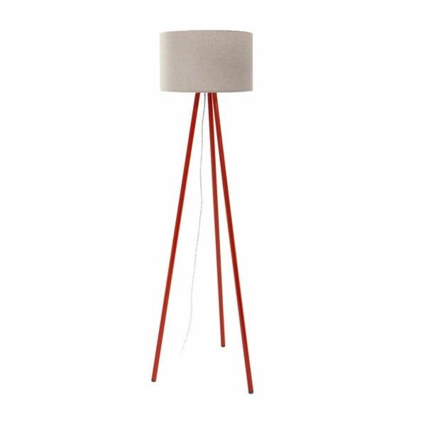 Stojací lampa Tom White/Red