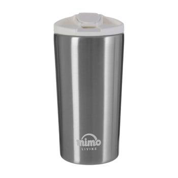 Sticlă termos Premier Housewares, 250 ml, gri-alb imagine