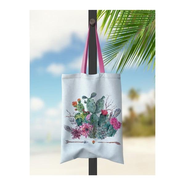 Geantă de plajă Kate Louise Cactus