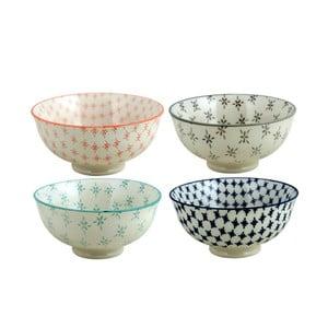 Set keramických misek Olivia, 4 ks