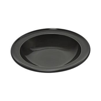 Farfurie pentru supă Emile Henry, ⌀ 22 cm, negru piper de la Emile Henry