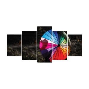Vícedílný obraz La Maison Des Couleurs Umbrella
