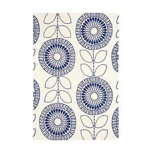 Koberec Asiatic Carpets Onix Flower Indigo, 120x170 cm