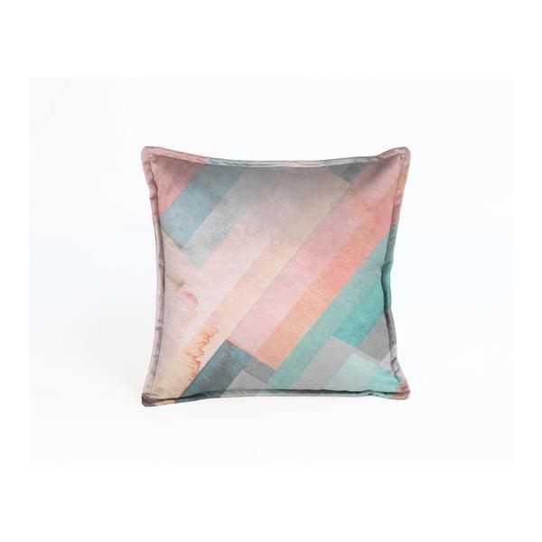 Barevný dekorativní povlak na polštář Velvet Atelier Sweetie, 45 x 45 cm