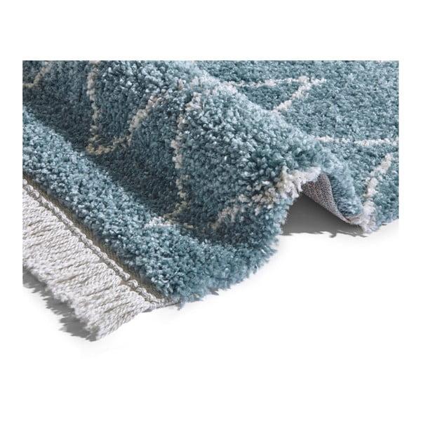 Modrý běhoun Mint Rugs Rotonno, 80x200cm