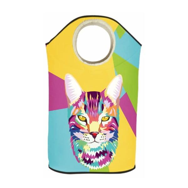 Koš na prádlo Pop Art Cat