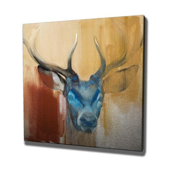 Tablou pe pânză Colorful Deer,45x45cm