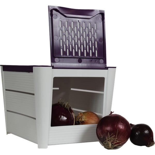 Box s větracími otvory na cibuli a další zeleninu Snips