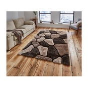Covor Think Rugs Noble House, 150 x 230 cm, bej - maro
