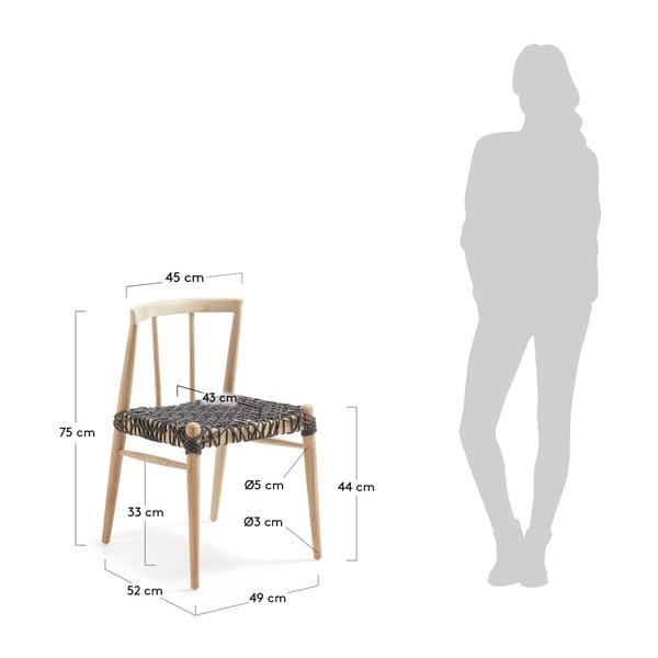Jídelní židle z teakového dřeva La Forma Dream